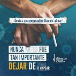La Liga Colombiana Contra el Cáncer invita a los colombianos a participar en el Reto '21 días libres de humo' para dejar de fumar y/o vapear durante la pandemia